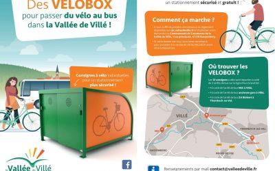 VELOBOX – abris à vélos sécurisés